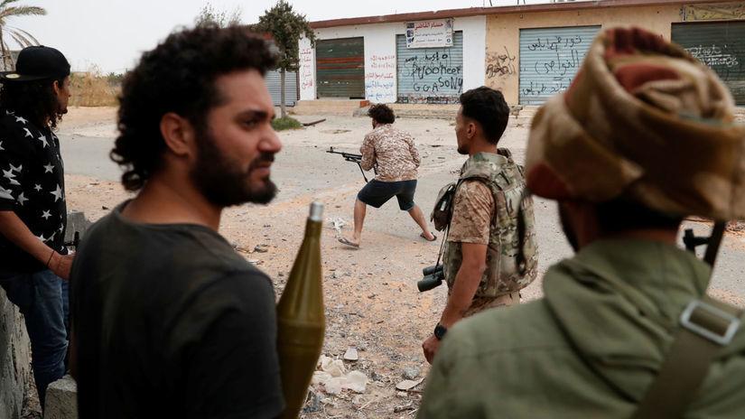 líbya,tripolis, zbraň, bojovník, vojna