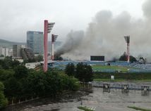 požiar polus