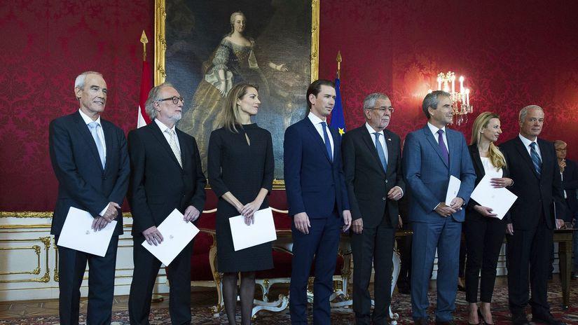 Rakúsko / vláda / noví ministri /