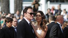 Režisér Quentin Tarantino a jeho manželka Daniella Pick.