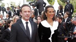 Vincent Perez a jeho manželka Karine Silla.