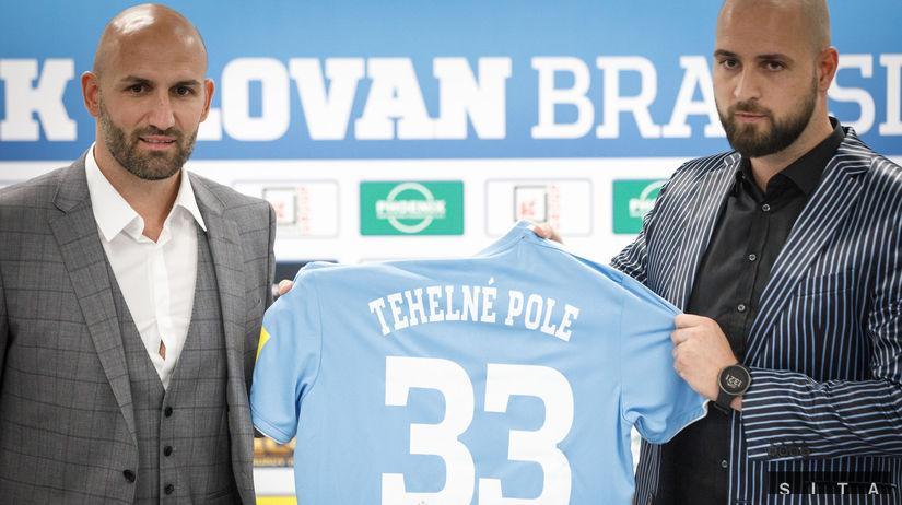 FUTBAL: Stretnutie ŠK Slovan a Róberta Vittek