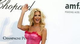 Švédska celebrita Victoria Silvstedt.