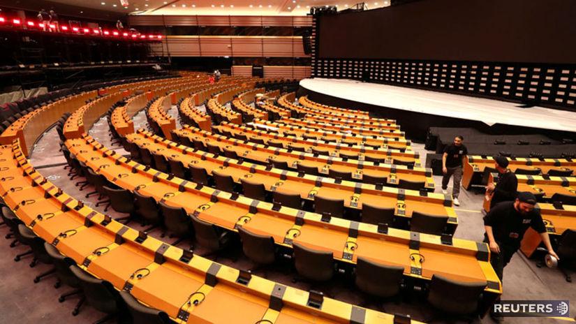 Európsky parlament, Brusel, Belgicko. EP,...