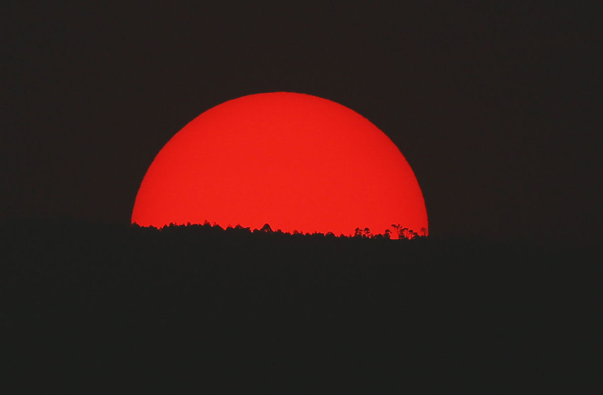 slnko, počasie, západ, Mexiko,