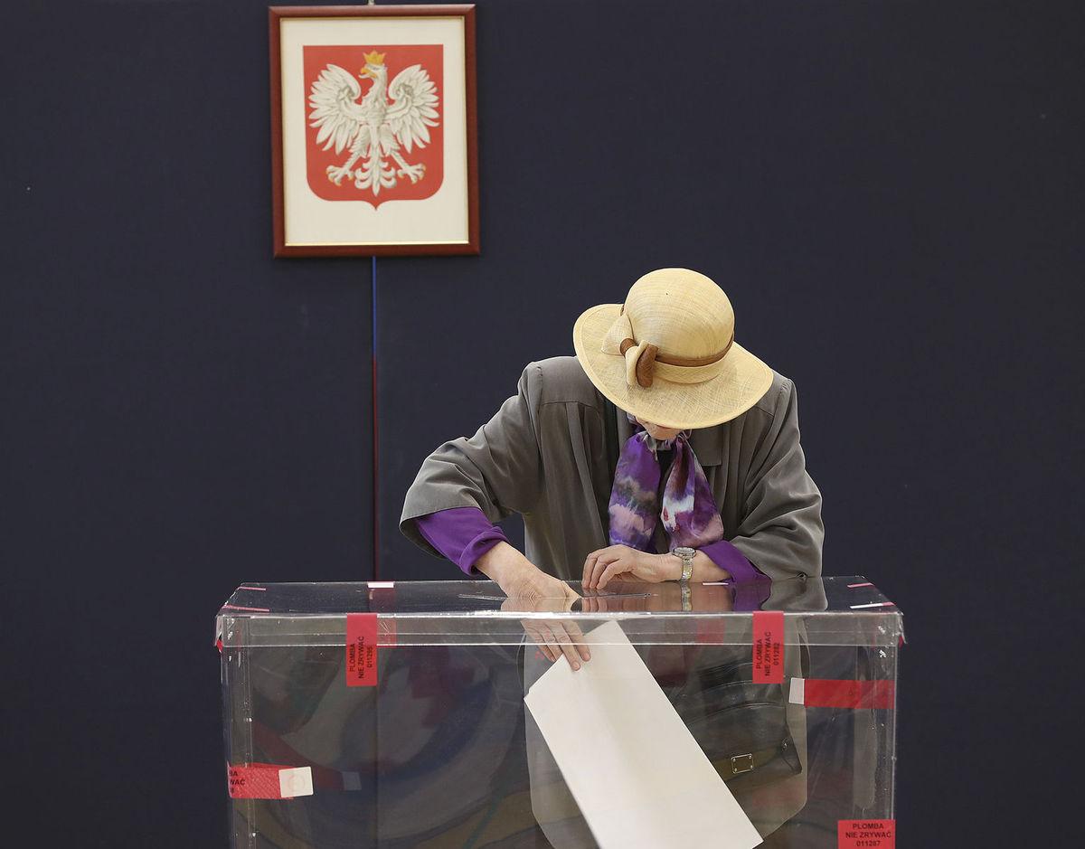 Eurovoľby v Poľsku.