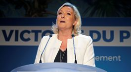 EU-ELECTION/FRANCE-LE PEN-REACTION