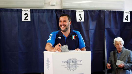 Taliansky premiér Matteo Salvini.