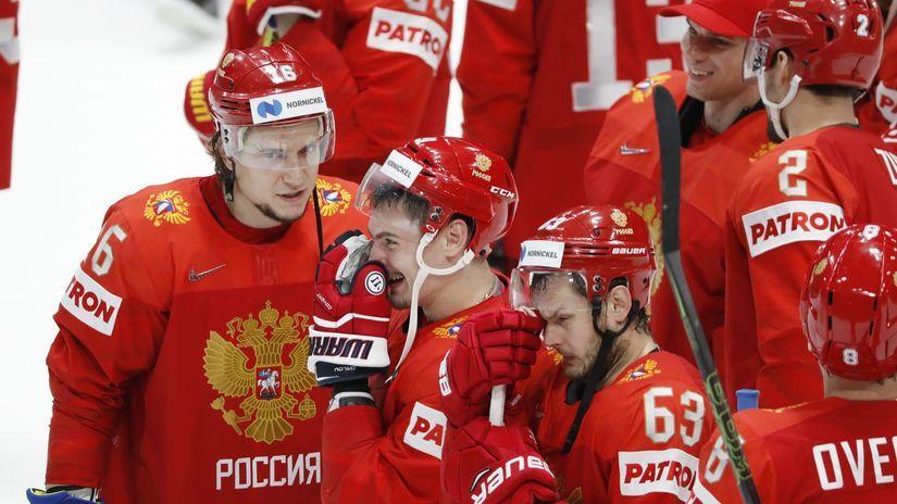 Ruskí hokejisti