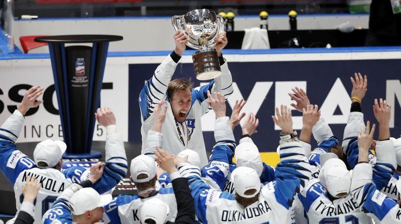 APTOPIX Slovakia Ice Hockey Worlds Anttila