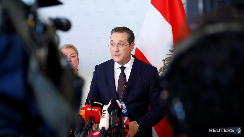 Heinz-Christian Strache, rakúsko