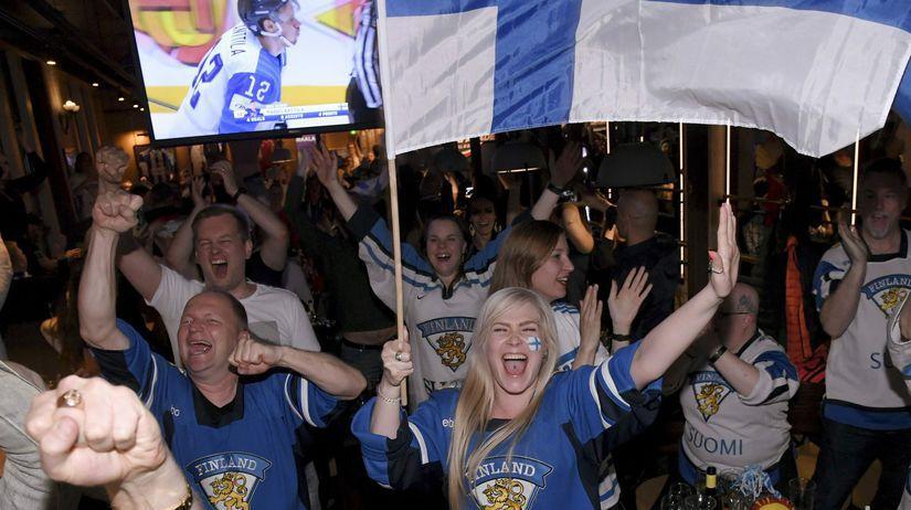 hokej ms fínsko fanúšikovia