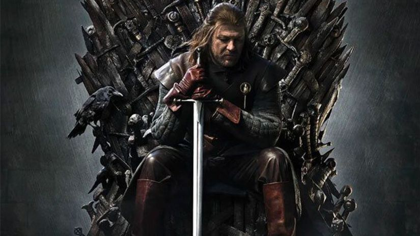 hra o tróny, game of thrones, ned stark,