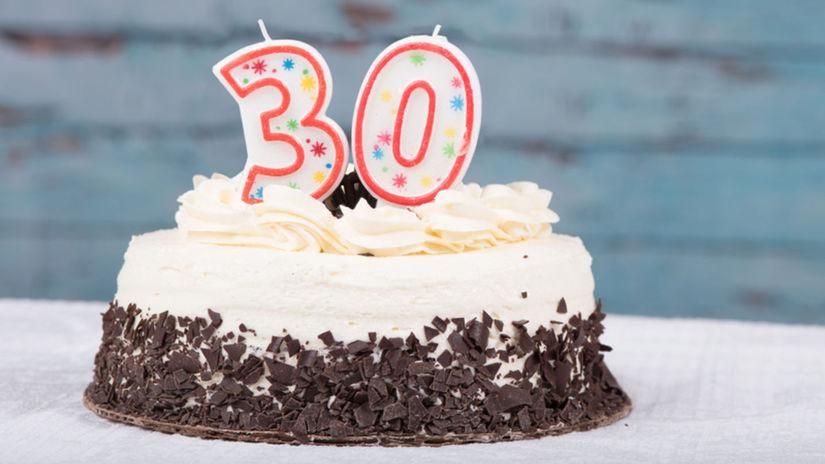 torta, narodeniny, oslava