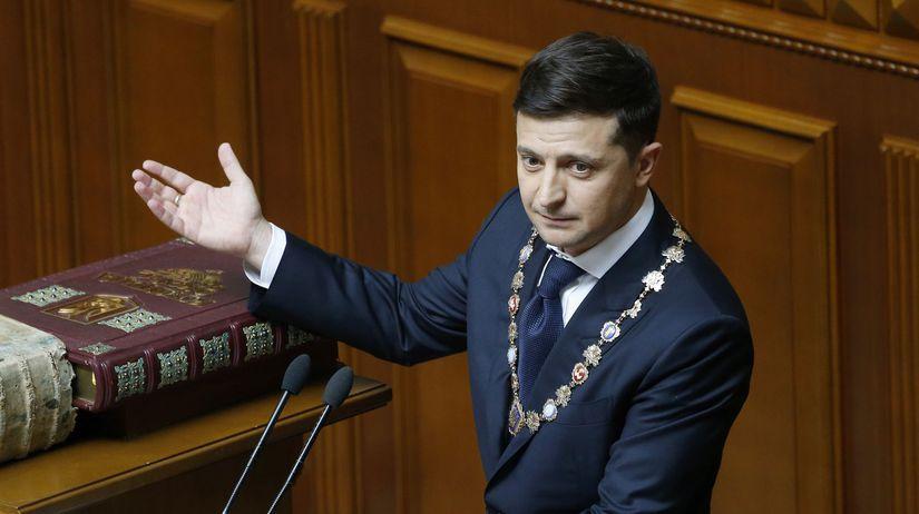 Ukrajinský prezident Volodymyr Zelenskyj