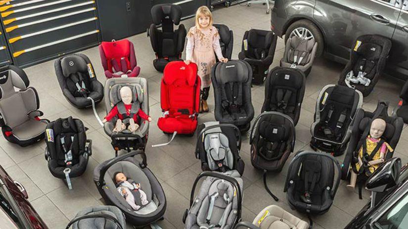 3190e88ac3914 ADAC: V teste detských sedačiek dve prepadli. Dobré nemusia byť ...