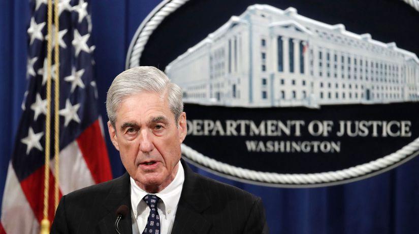 USA Rusko Mueller Trump vyšetrovanie vyjadrenie