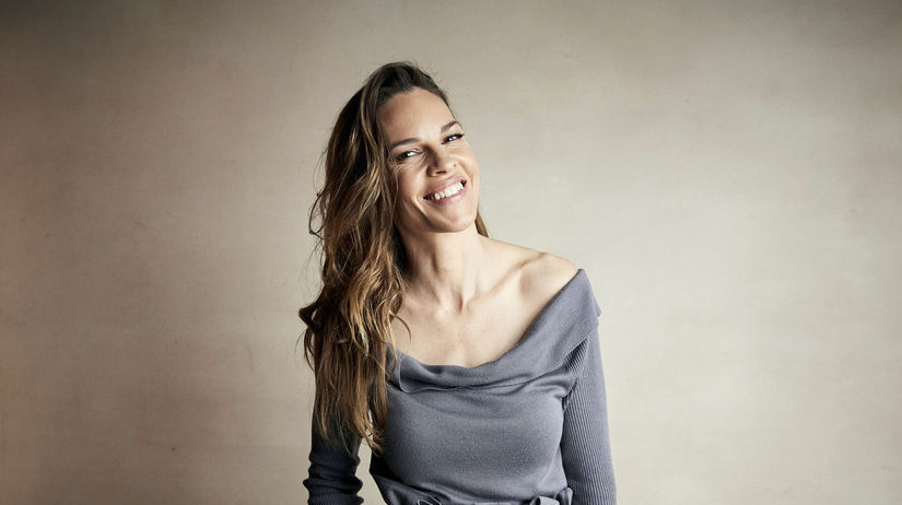 Herečka Hilary Swank promuje film I Am Mother...