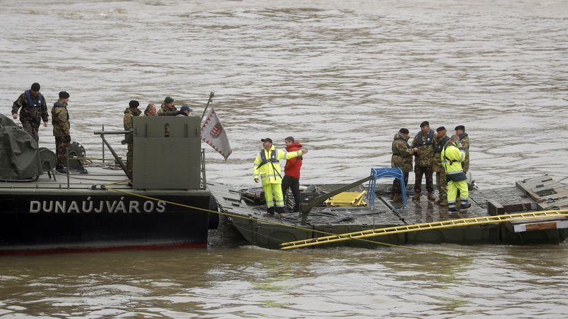Maďarsko Budapešť loď výletná potopenie...