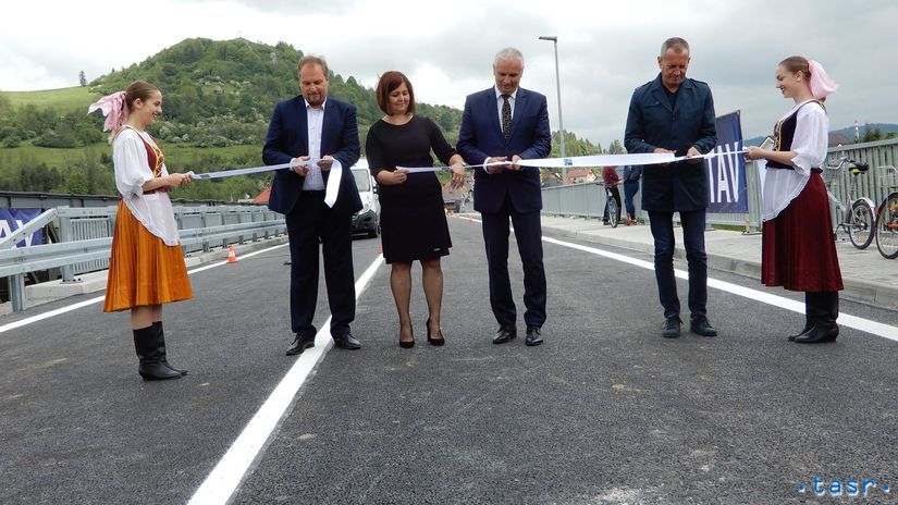 Nižná, most, Orava
