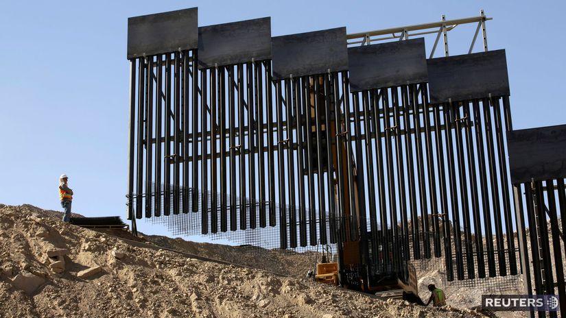 usa, mexiko, trump, múr, bariéra, plot, stavba