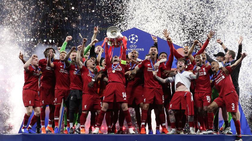 Španielsko Futbal LM finále Tottenham Liverpool