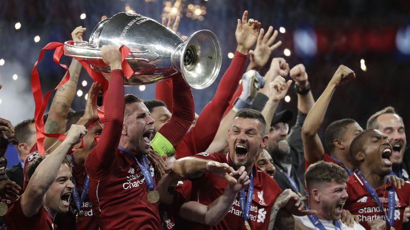 Liverpool, radosť