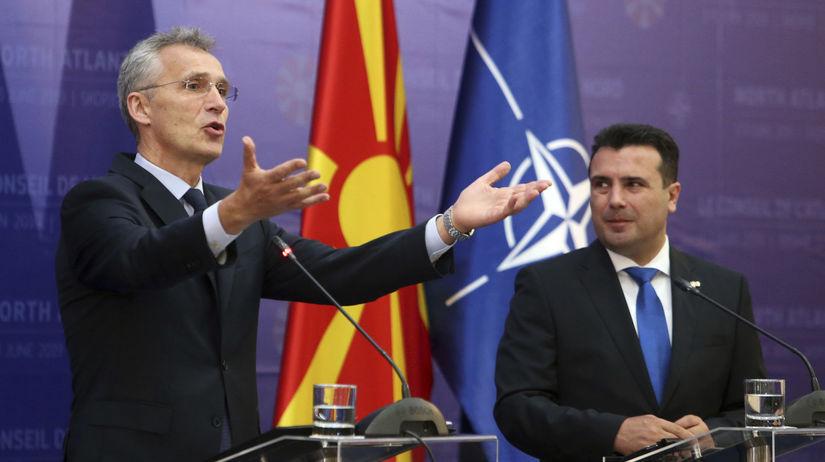 Severné Macedónsko / NATO / Stoltenberg /