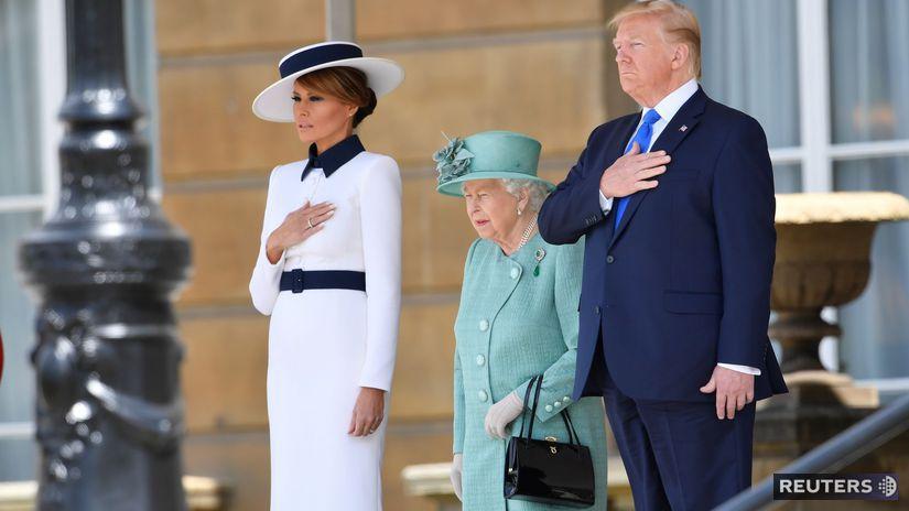 USA / Veľká Británia / Donald Trump /