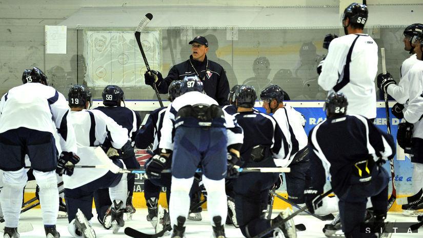 HOKEJ: Tréning HC Slovan Bratislava Stantien