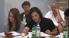 hra o tróny, game of thrones, emilia clarke, kit harington,