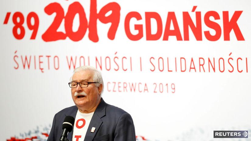 Lech Wałęsa / Solidarita /