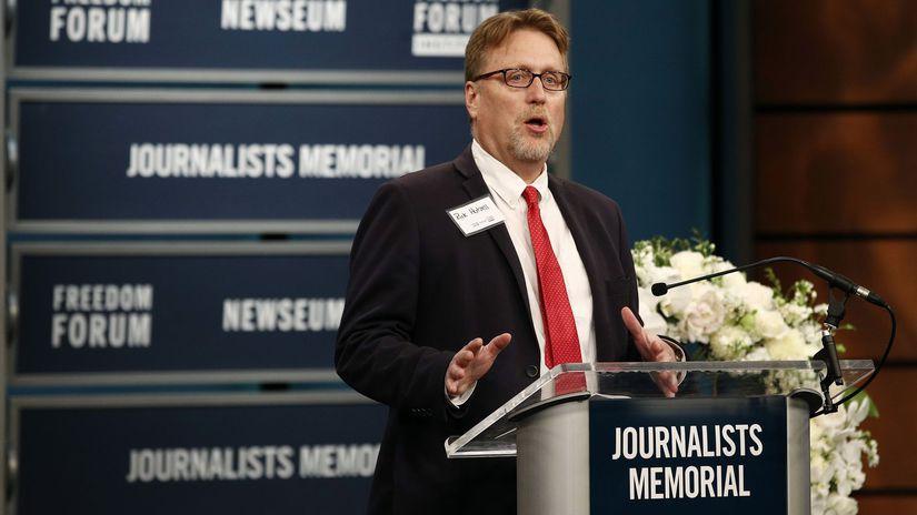 pamätník zabitých žurnalistov, washington, USA,...