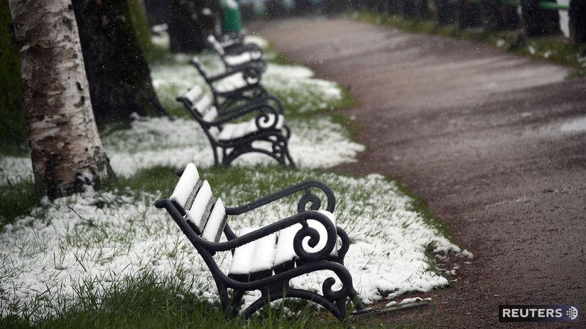 počasie / sneh /