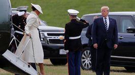 D-Day, trump, Melania Trumpová