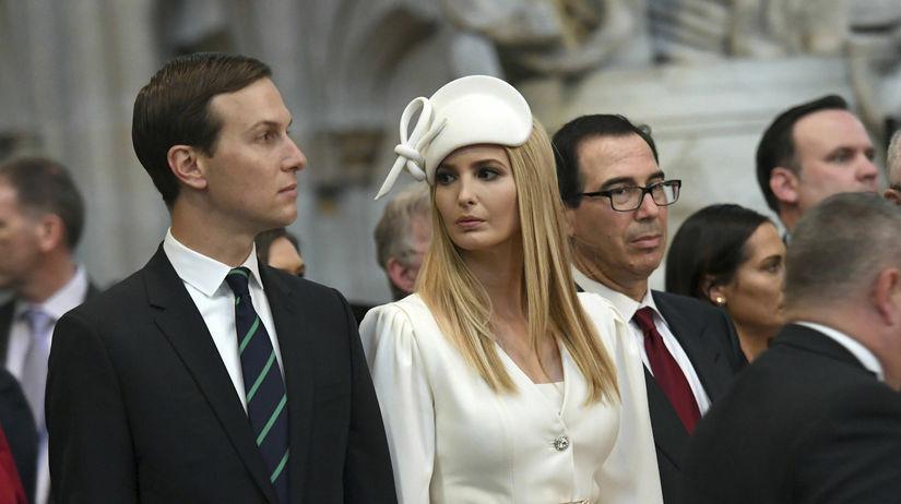Ivanka Trump a jej manžel Jared Kushner počas...
