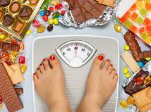obezita, nadváha, chudnutie, diéta, sladkosti