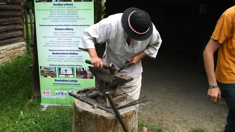 tovariš, kováč, SNM - Múzeum slovenskej dediny