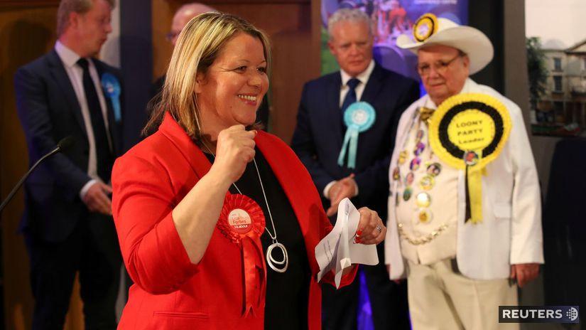 Lisa Forbesová, labouristi, británia, voľby