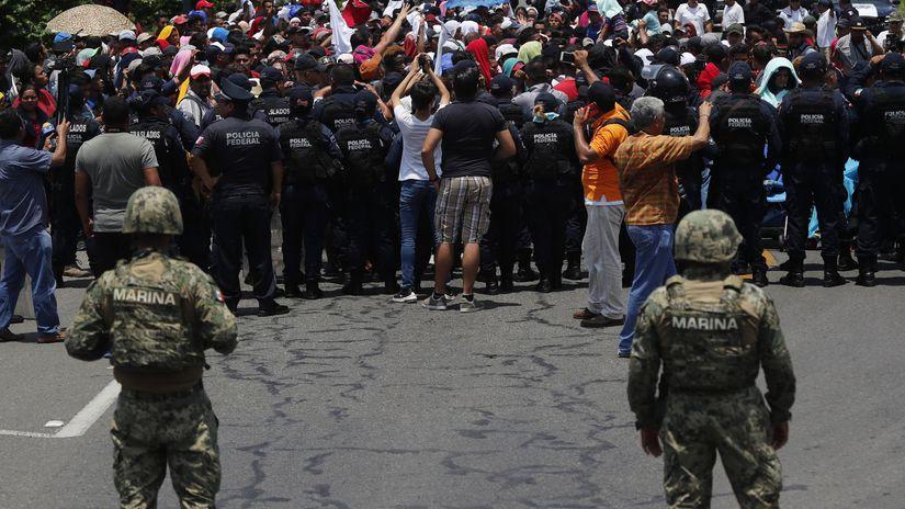 Mexico / Migranti / Guatemala /