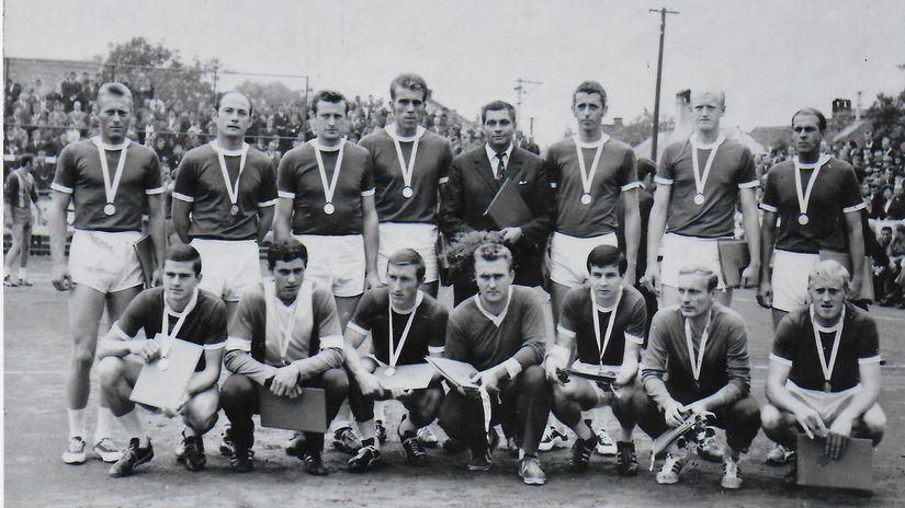 Prešov, hádzaná, 1969
