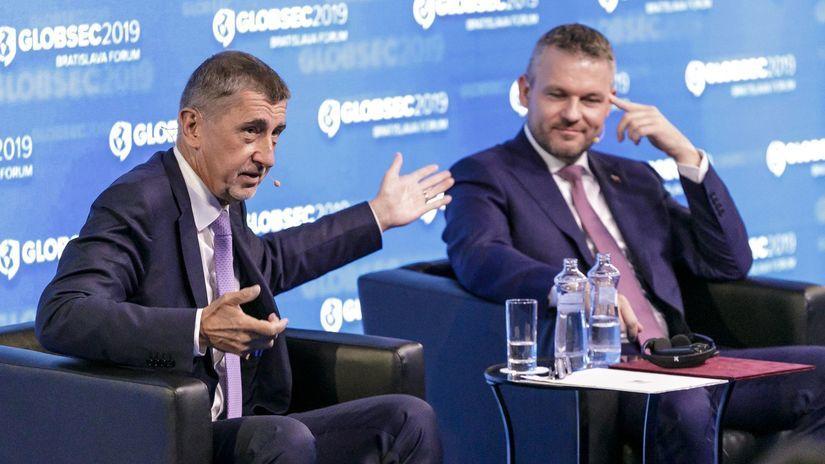 Bratislava konferencia bezpečnosť Globsec 2019...