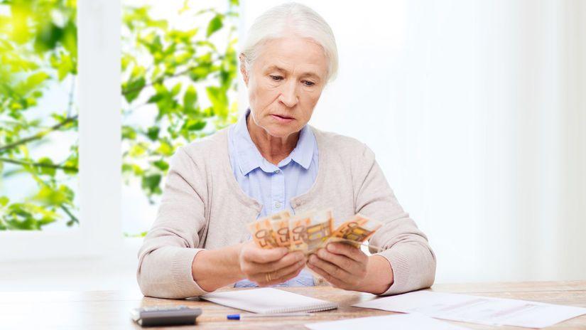 senior, dôchodok, penzia, peniaze