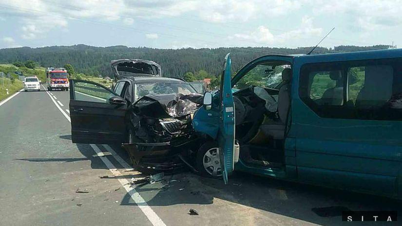 auto, Dopravná nehoda, spišská belá,