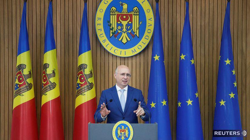 moldavsko, Pavel Filip