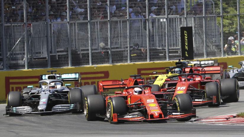 Vettel, Hamilton,
