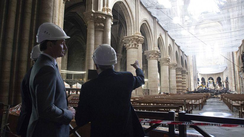 Francúzsko Notre dame, Trudeau Paríž katedrála