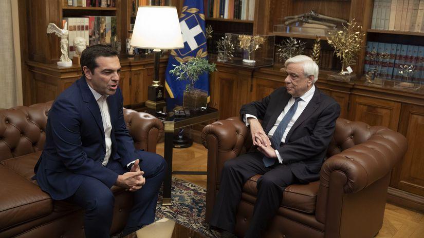 Grécko / Tsipras / Pavlopoulos /