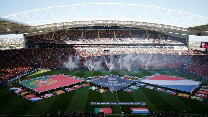 Liga národov, finále