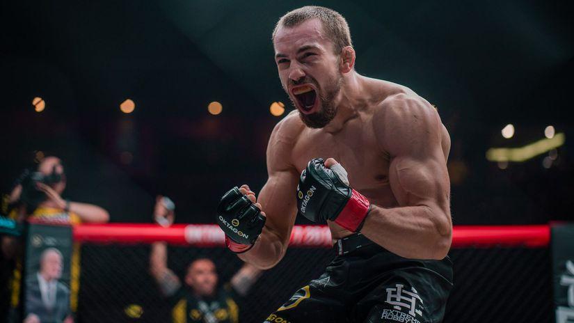 Ľudovít Klein MMA Oktagon